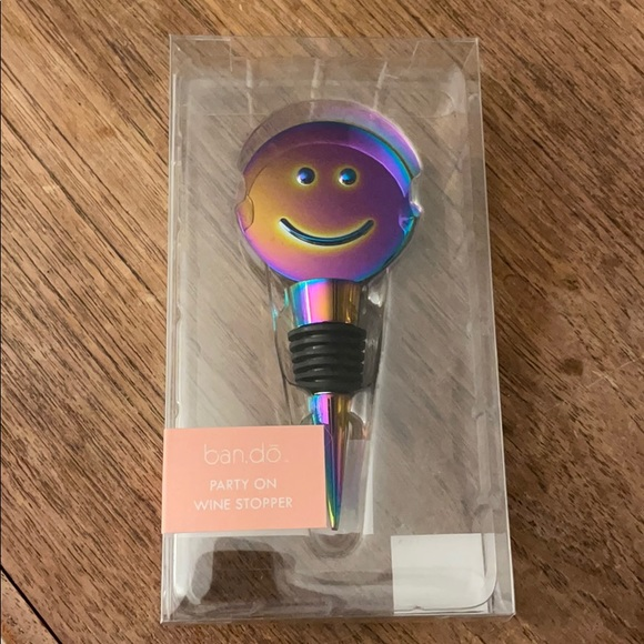Ban.do Party On Wine Stopper NWT